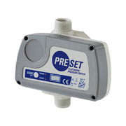 PRESET - Single-phase switch with electronic pressure adjustment from 0.8 to 9 bars.